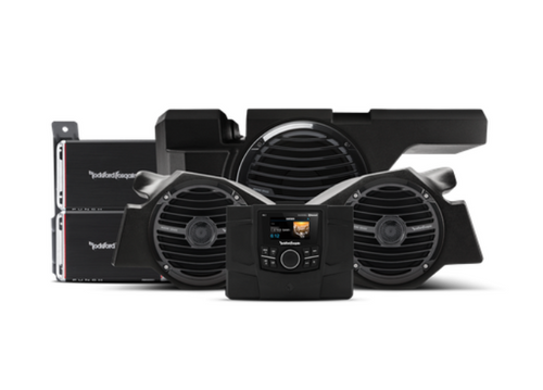 600 Watt stereo, front speaker and subwoofer kit for select Polaris® RZR® models