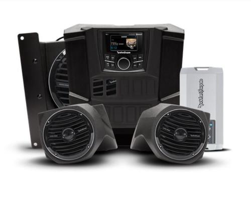 400 watt stereo, front lower speaker, and subwoofer kit for select RANGER®