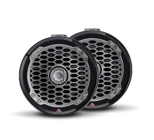 "The PM2652W-MB is a Punch 6.5"" 2-way mini wakeboard tower speaker enclosure featuring marine grade weather proofing technologies. Supplied in all black with a stainless steel sport grille."
