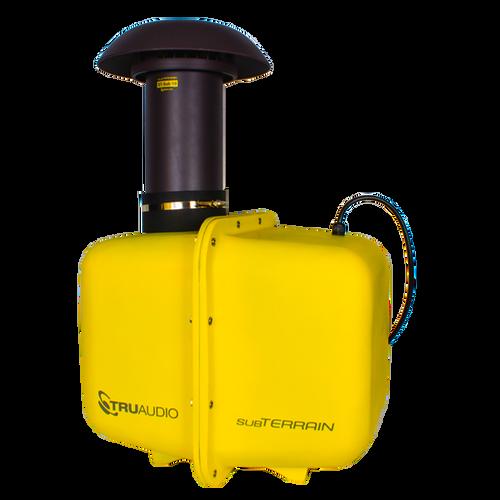 """SubTerrain™ underground subwoofer, 10"""" driver, 250 watts, 4Ω, yellow. Sold each."""