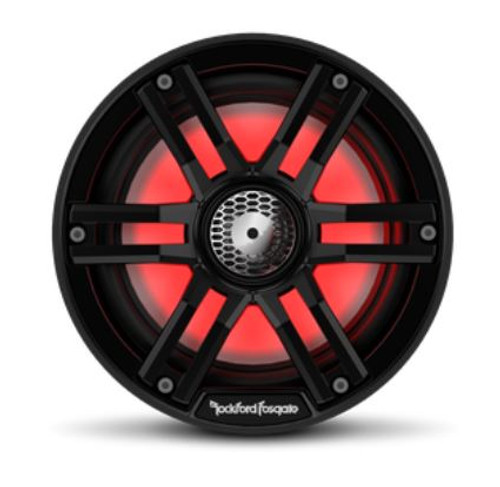 "8"" Color Optix Marine 2-Way Black Speaker"