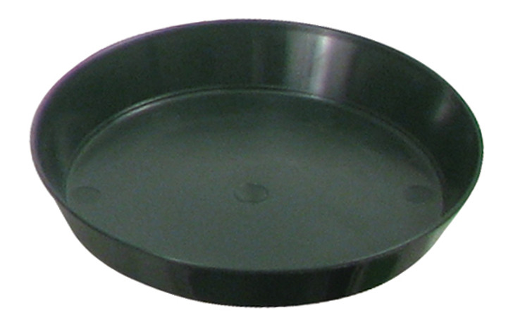 Green Premium Plastic Saucers (Measured from top)