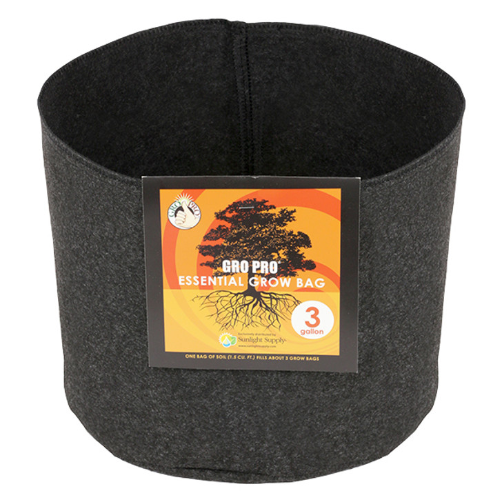 Gro Pro Essential Round Fabric Pot