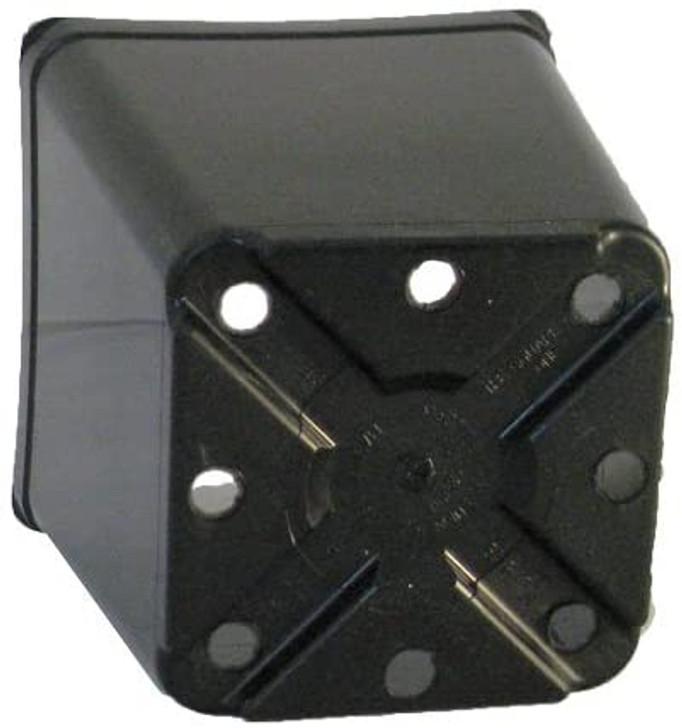 """Black Square One Pot 5.5"""" x 5.5"""""""