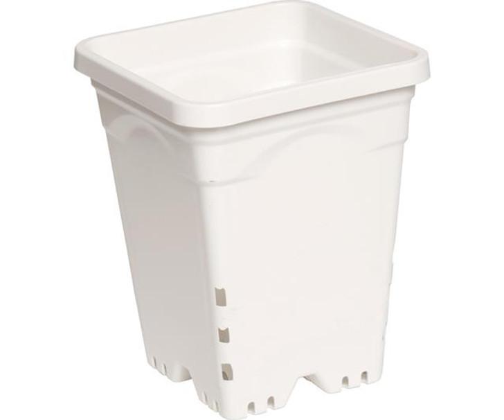 Active Aqua Square White Pot