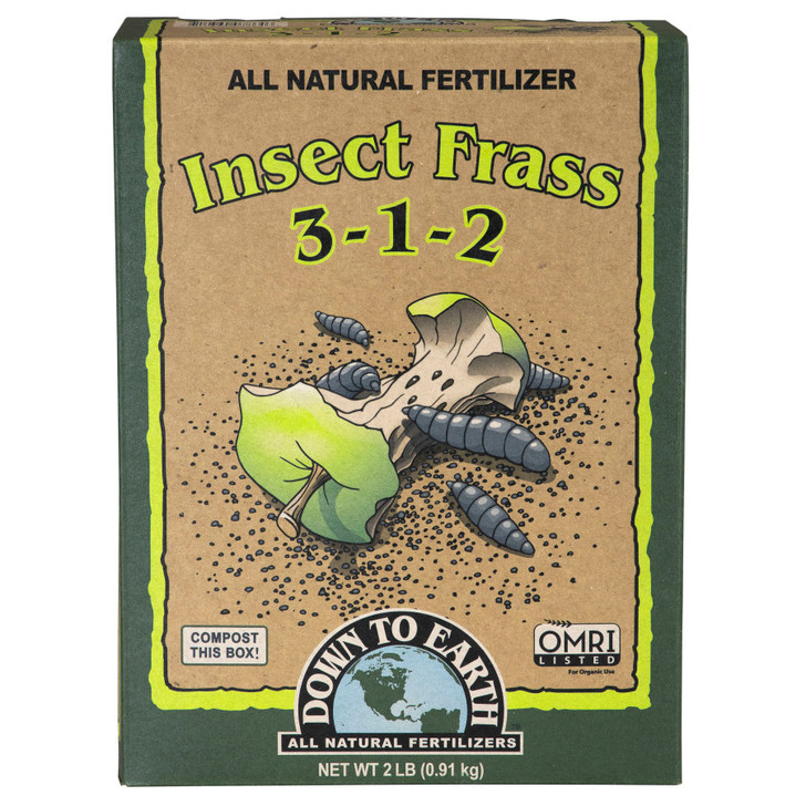 Down to Earth Insect Frass 2LB