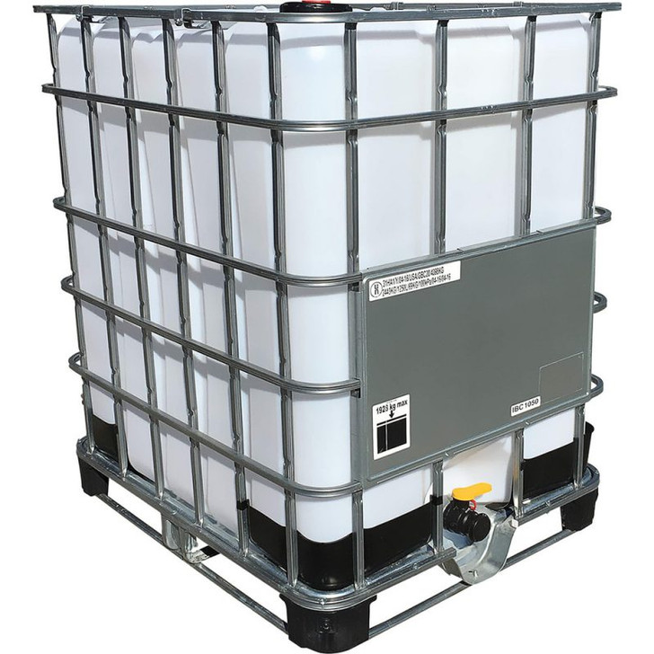 330 Gallon Tote (reconditioned- new plastic bladder) *pickup in store only