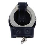Aker Leather Bikini Style Handcuff Case With Cuffs