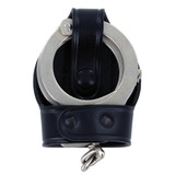 Aker Leather Bikini Style Handcuff Case With Cuffs