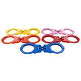 Peerless Hinged Colored Handcuffs