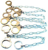 Peerless DOUBLE Handcuff Gang Chains (2-10 Positions)