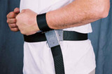 The Grip Waist Belt with Rotating Wrist Restraints