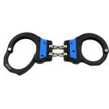 ASP Blue Line Aluminum Ultra Hinged Handcuffs 56016