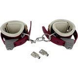 Humane Restraint WAL-501-HC Foam Padded Leather Handcuffs