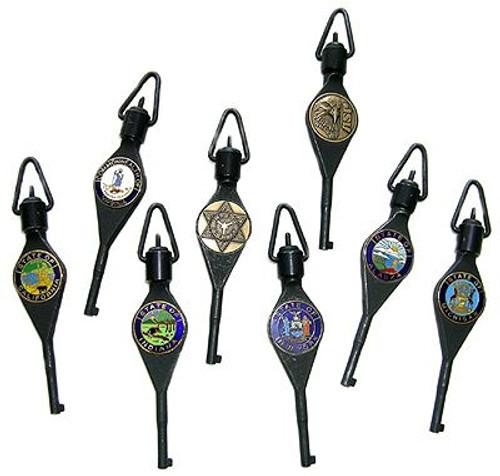 ASP Logo Handcuff Keys
