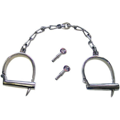 Heavy Weight Adjustable Darby Leg Irons