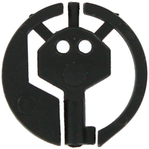 Black Covert Handcuff Key