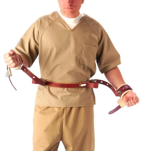 Locking Adjustable Wrist-to-Waist Ambulatory Restraints