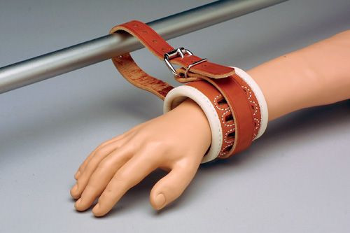 Humane Restraint Model W-601 Leather 601 Wrist Restraint