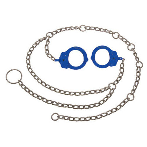 Peerless Model 7002C Waist Chain W/ Colored Handcuffs
