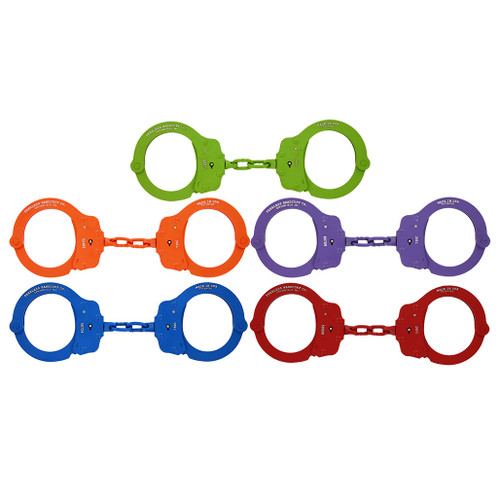 Peerless Colored Aluminum Handcuffs