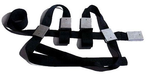 The Grip Waist Belt with Extendable Wrist Restraints