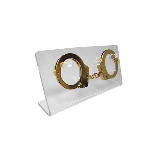 Acrylic Handcuff Display
