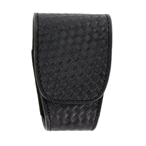 ASP Closed Top Handcuff Case With Velcro Closure, Basketweave