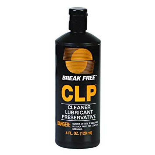 Break Free CLP Cleaner, Lubricant, Preservative, 4 oz