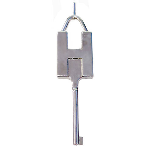CTS Thompson Model SK-5 Stainless Steel Extended Reach Handcuff Key