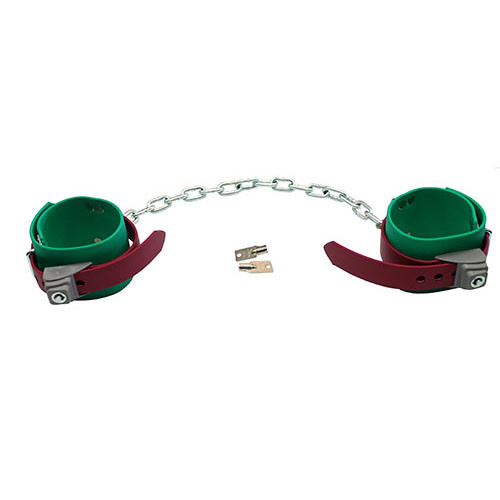 Humane Restraint Model ADL-305LI Poly Leg Irons