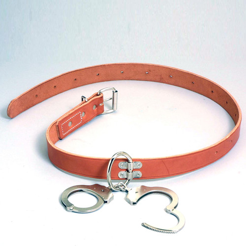 Humane Restraint Leather Transport Belt