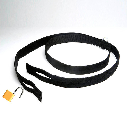 Humane Restraint Model HL-48 Nylon Transport Belt Hook & Loop Closure