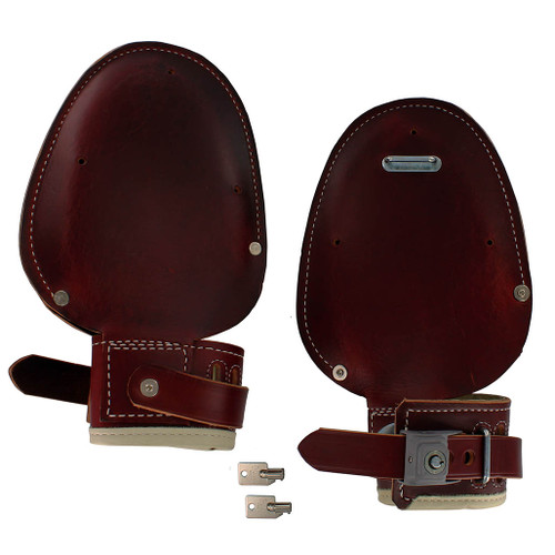 Humane Restraint Model ML-200 Locking Leather Mitts