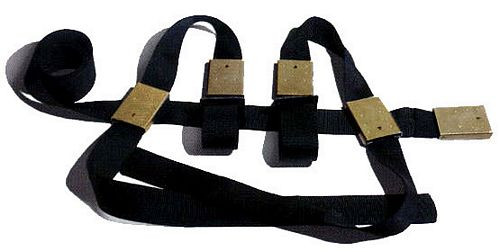 The Grip Restraint MRI-safe Waist Belt with Extendable Wrists