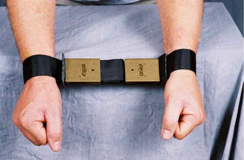 The Grip Restraint MRI-Safe Wrist Restraints