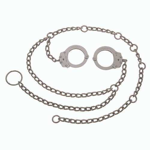 Peerless Model 7002 Waist Chain W/ Separated Handcuffs