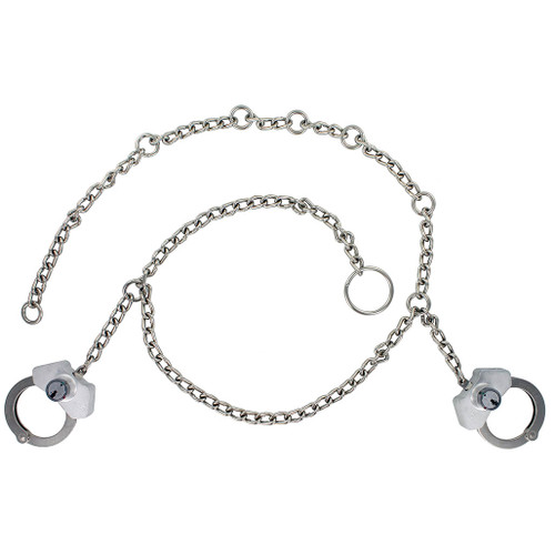 Peerless Model 7002HS High Security Waist Chain W/ Separated Handcuffs
