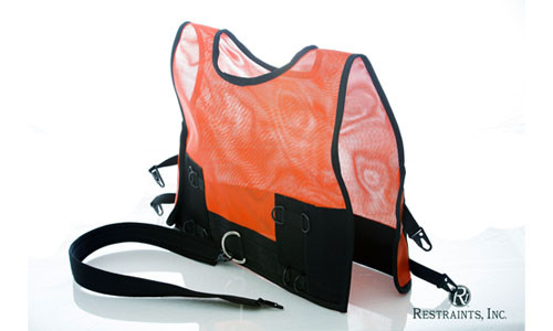 Restraint Vest With Security Strap/High Max Transport Vest