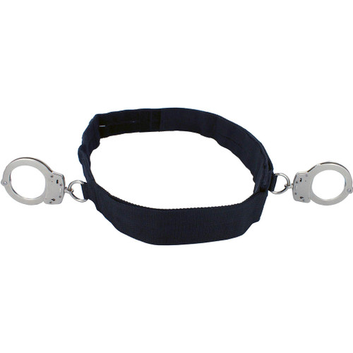 Transport Belt with S&W Handcuffs at Sides