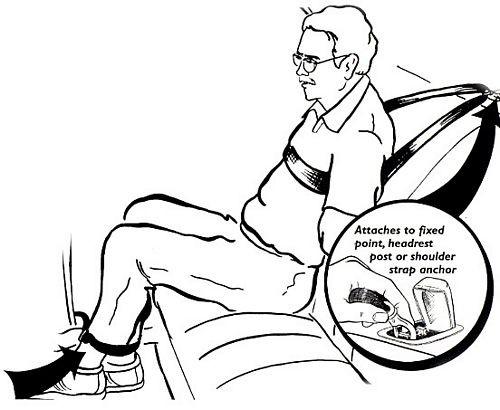 Ripp Restraints Violent Prisoner Transport