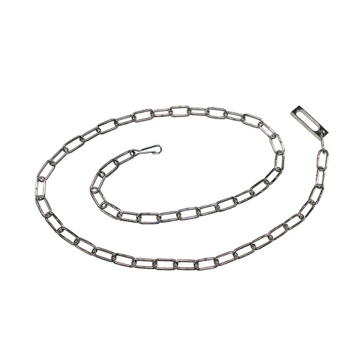 Chicago Model A800 Nickel Plated Waist Chain
