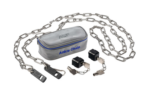 "ASP 120"" Ankle Chain w/2 Locks, 4 Keys"