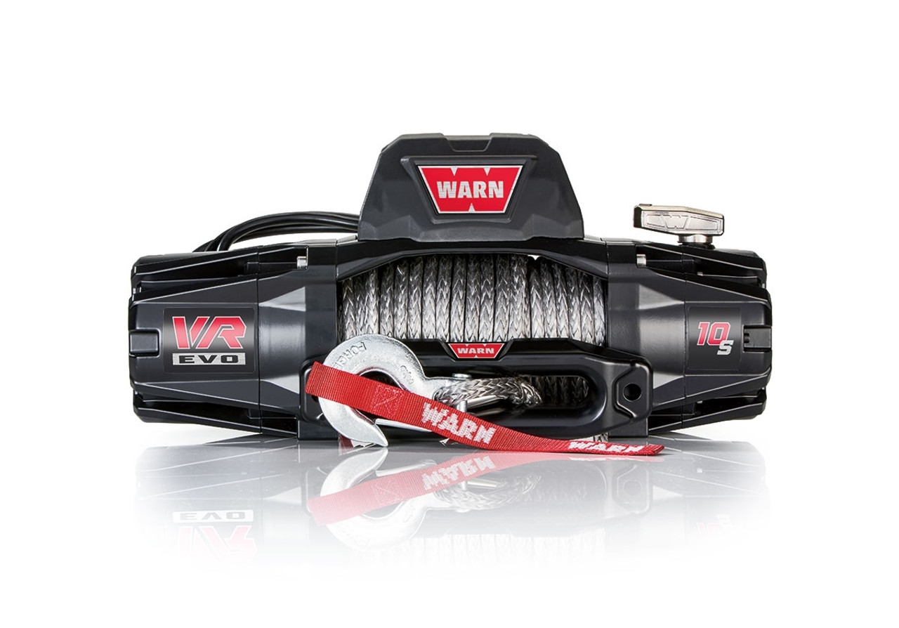 Warn VR EVO 10-S Winch w/ Synthetic Rope