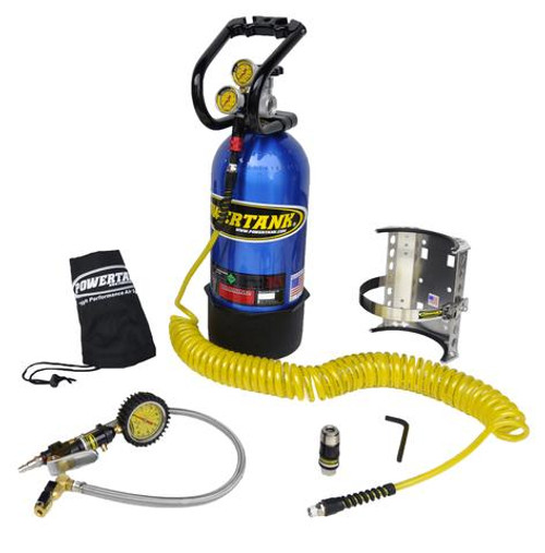 Power Tank 10 LB POWER TANK PKG B W/ TIRE INFLATOR - CO2 TANK PORTABLE AIR SYSTEM