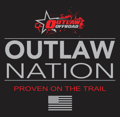 Outlaw Nation Cotton/Poly Fleece Hoodie