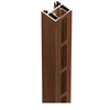 970mm to 1170mm Wide Slat Gate Frame Kit - Timber-Look. (Can make any height up to 2000mm high).
