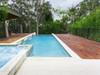 Black Flat Top Aluminium Pool Fencing From Fence Guru