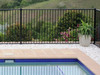 Crazy Deal on Black 'Pool Safe' Flat Top Pool Fencing