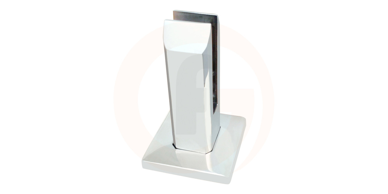 Bolt Down Glass Spigot with cover plate